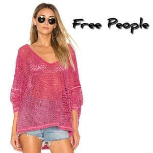 NWT🏷️ FREE PEOPLE Napa oversized knit top